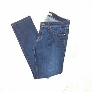 J Brand Distressed Pencil Leg Jeans Size 28